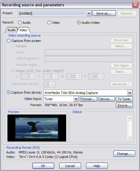Dv capture software free